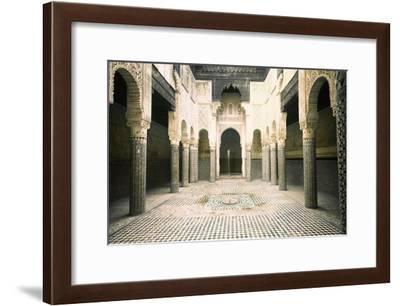 The Madrasa at Sale-Werner Forman-Framed Giclee Print