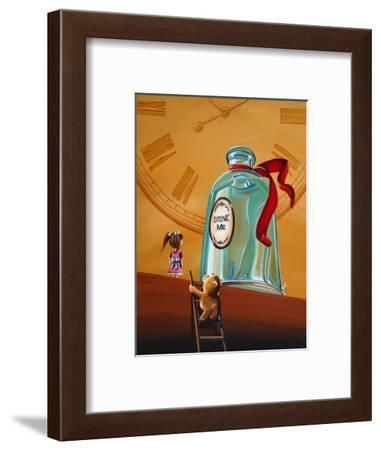 Looking For Alice-Cindy Thornton-Framed Art Print