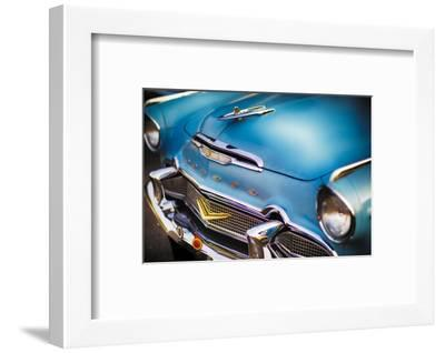 Ready for a Saturday Mnight Cruise in My Desoto-George Oze-Framed Photographic Print