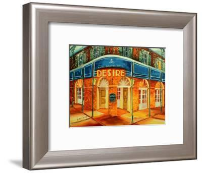 Desire Oyster Bar-Diane Millsap-Framed Art Print