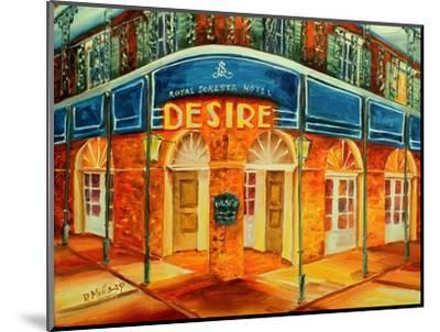 Desire Oyster Bar-Diane Millsap-Mounted Art Print