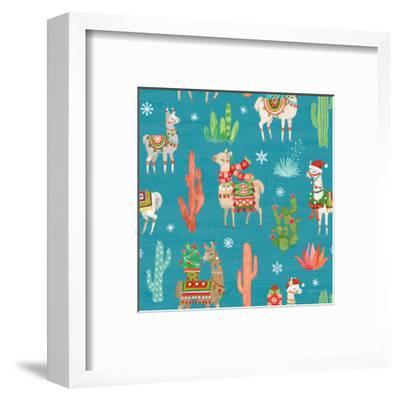 Lovely Llamas Christmas Step 06B-Mary Urban-Framed Art Print