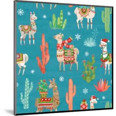 Lovely Llamas Christmas Step 06B-Mary Urban-Mounted Art Print