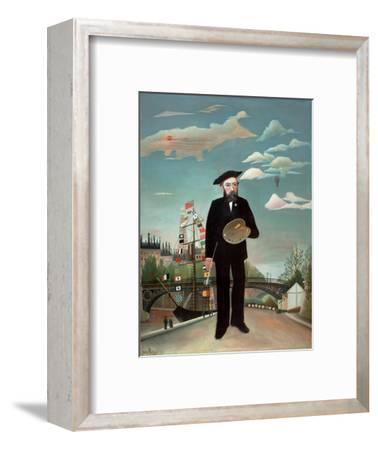 Myself: Portrait-Landscape, 1890-Henri J.F. Rousseau-Framed Giclee Print