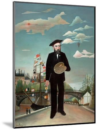 Myself: Portrait-Landscape, 1890-Henri J.F. Rousseau-Mounted Giclee Print