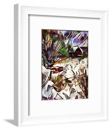 Etude 8,2017-Alex Caminker-Framed Giclee Print