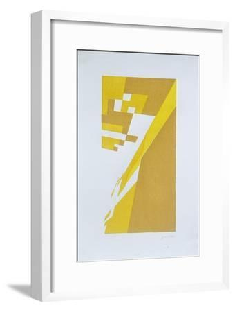 Deconstruction  No. 8-Guilherme Pontes-Framed Giclee Print
