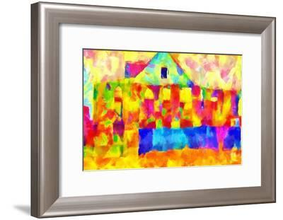 burning view,2017-Alex Caminker-Framed Giclee Print