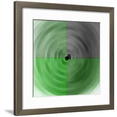 circles and squares,2017-Alex Caminker-Framed Giclee Print