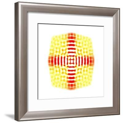 yellow-red,2017-Alex Caminker-Framed Giclee Print
