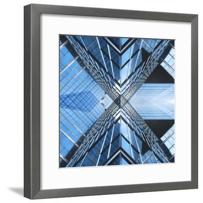 Architectural Blues-THE Studio-Framed Photographic Print