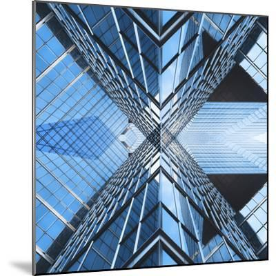 Architectural Blues-THE Studio-Mounted Photographic Print