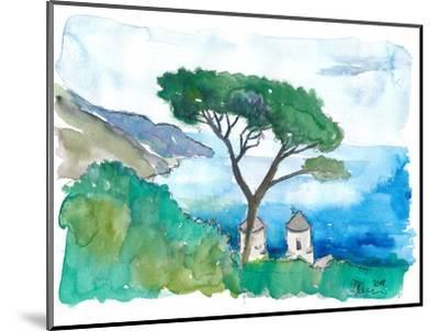 Incredible Amalfi Coast View Ravello Villa Rufolo-M. Bleichner-Mounted Art Print