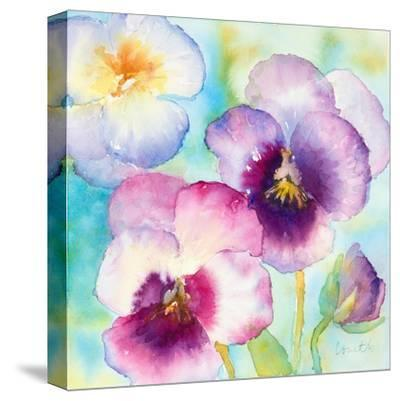 Sunny Side Orchids-Lanie Loreth-Stretched Canvas Print