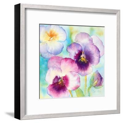 Sunny Side Orchids-Lanie Loreth-Framed Art Print