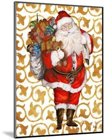Golden Santa-Patricia Pinto-Mounted Art Print