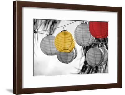 Lanterns-Gail Peck-Framed Art Print