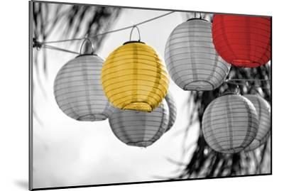 Lanterns-Gail Peck-Mounted Art Print