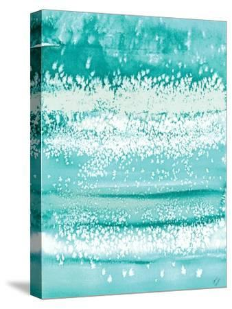 Teal Windy-Lanie Loreth-Stretched Canvas Print
