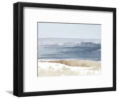 Soft Coastlines II-Lanie Loreth-Framed Art Print