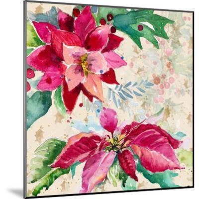 Holiday Poinsettia I-Patricia Pinto-Mounted Art Print
