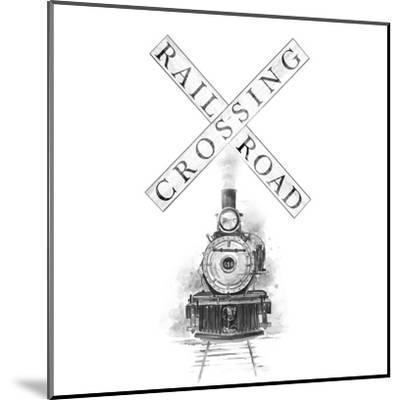 Railroad Crossing-Patricia Pinto-Mounted Art Print
