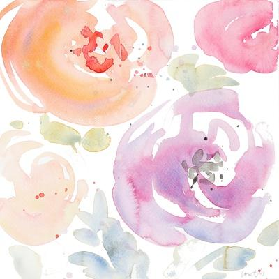 Gentle Blossoms I-Lanie Loreth-Framed Art Print