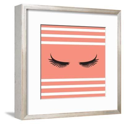 Lashes-Sd Graphics Studio-Framed Art Print