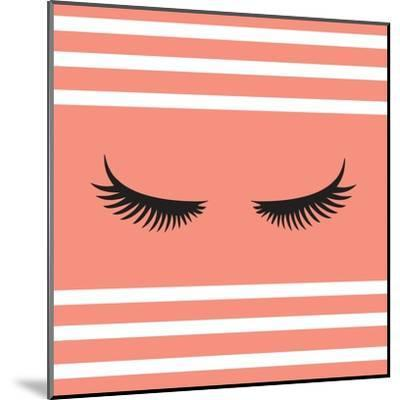 Lashes-Sd Graphics Studio-Mounted Art Print