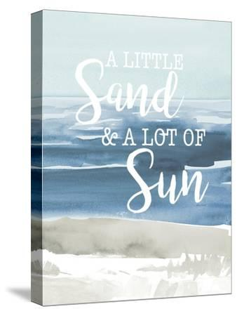 Little Sand Lot of Sun-Lanie Loreth-Stretched Canvas Print