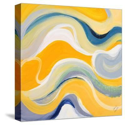 Curvilinear Bright I-Lanie Loreth-Stretched Canvas Print