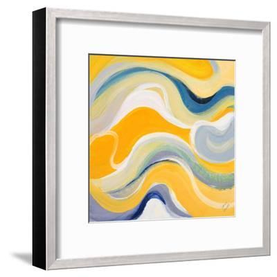 Curvilinear Bright I-Lanie Loreth-Framed Art Print