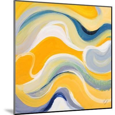 Curvilinear Bright I-Lanie Loreth-Mounted Art Print