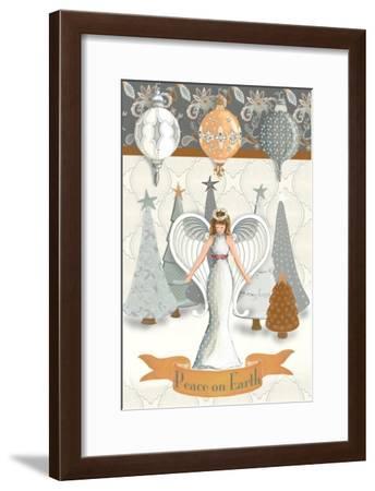 Angel Wonderland Earth-Andi Metz-Framed Art Print