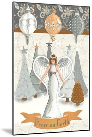 Angel Wonderland Earth-Andi Metz-Mounted Art Print