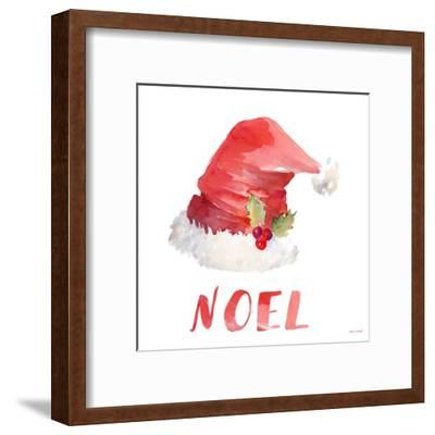 Holiday Hat Sentiment II-Lanie Loreth-Framed Art Print