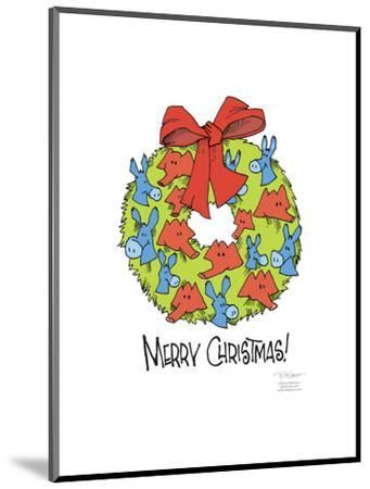 Merry Christmas!-Signe Wilkinson-Mounted Art Print