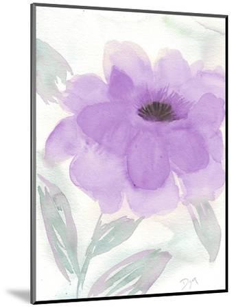 Lilac Peony II-Beverly Dyer-Mounted Art Print