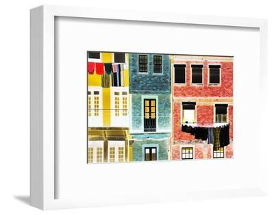 Iberian Negative Collection - Porto Facades-Philippe Hugonnard-Framed Photographic Print