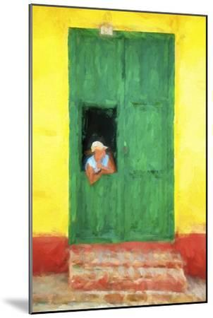 Cuba Painting - The Day I Met You-Philippe Hugonnard-Mounted Art Print