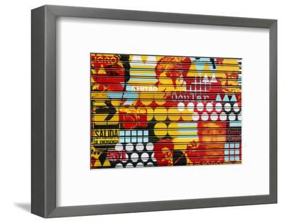 Made in Spain Collection - Colorful Blind Art-Philippe Hugonnard-Framed Photographic Print