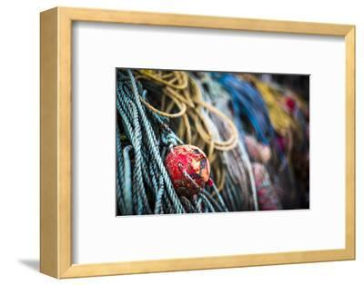 Fishing harbour on Rathlin Island, County Antrim, Ulster, Northern Ireland, United Kingdom-Photo Escapes-Framed Photographic Print