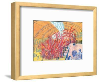 Madrid Atocha-Sol Jeong-Framed Giclee Print