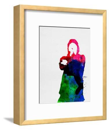 Eminem Watercolor-Lana Feldman-Framed Art Print