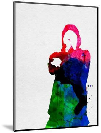 Eminem Watercolor-Lana Feldman-Mounted Art Print