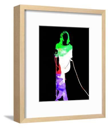 Mick Watercolor II-Lana Feldman-Framed Art Print