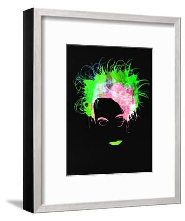 Robert Watercolor II-Lana Feldman-Framed Art Print