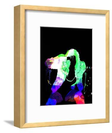 Black Eyed Peas Watercolor-Lana Feldman-Framed Art Print