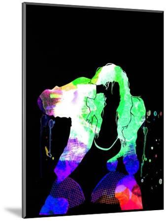 Black Eyed Peas Watercolor-Lana Feldman-Mounted Art Print