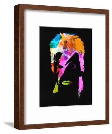 David Watercolor II-Lana Feldman-Framed Art Print